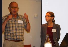 John Sandell ble intervjuet av audiopedagog Bente Ørbeck.