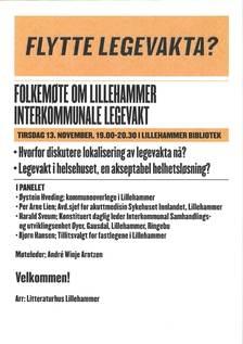 Plakat om folkemøte