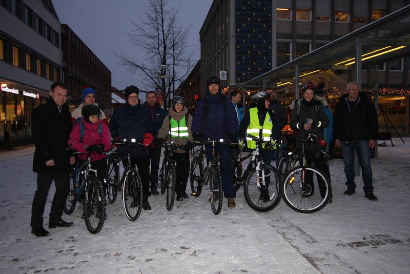 Vintersyklister 2013