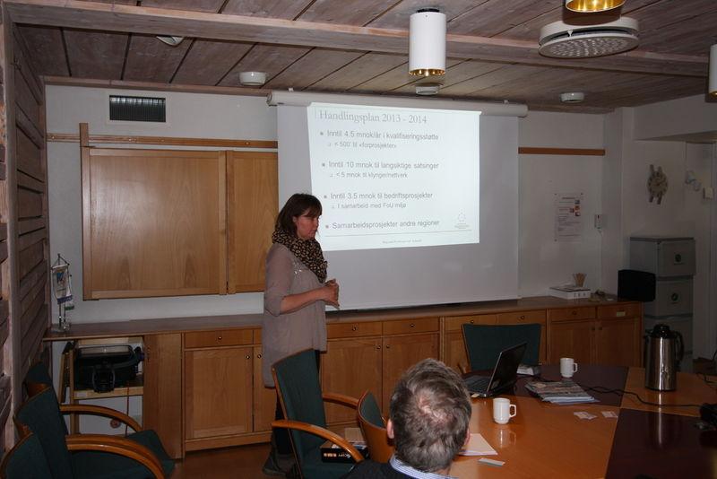 Hilde Martinsen fra Regionalt Forskningsfond Innlandet