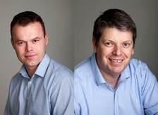 Espen Granberg Johnsen og Christian Fotland