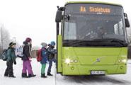 Buss til skolen