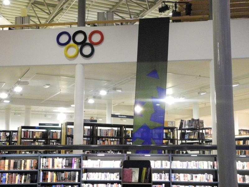 OL utstilling biblioteket
