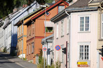 Trehus og flott arkitektur. Foto: Esben Haakenstad