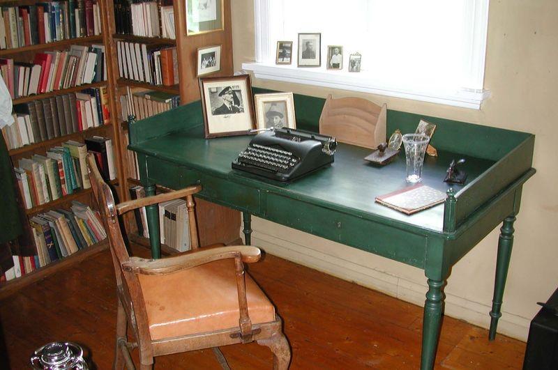 Sigrid Undsets skrivebord