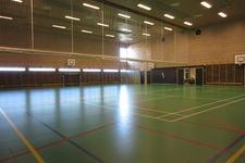Gymsalel ved Gossen barne- og ungdomsskole.