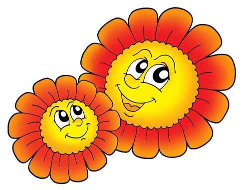 Smilande blomster