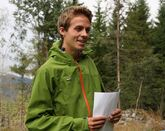 Gyrd Harstad informerte om snutebilletemaet under Mjøsen Skogs styretur til Ringsaker høsten 2011.