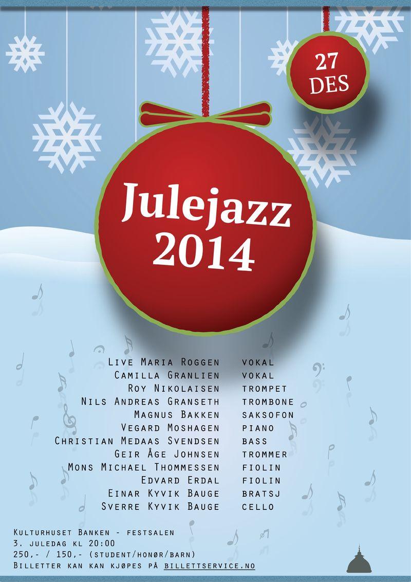 julejazz 2014 plakat NY