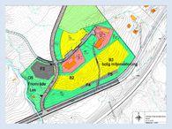 Kart: Forslag til reguleringsendring Øverli