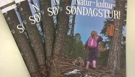 Brosjyre Natur kultur søndagstur