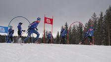 Nytt anlegg for Langrennscross og sykkel åpnet på Birkebeineren stadion.