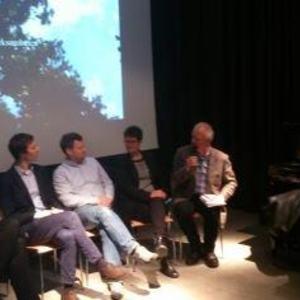 bilde fra paneldebaten