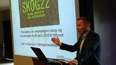 Styreleder Olav Veum holdt leders tale til årsmøtet i Norges Skogeierforbund i dag.