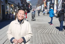 Byplansjef Inger Stubsjøen mener folkehelse henger sammen med byhelse.(Foto: Per Kollstad)