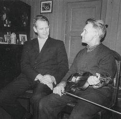 Erling Kjøk og Ola Aasen ca 1970