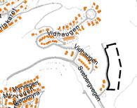 Bildet viser planavgrensning