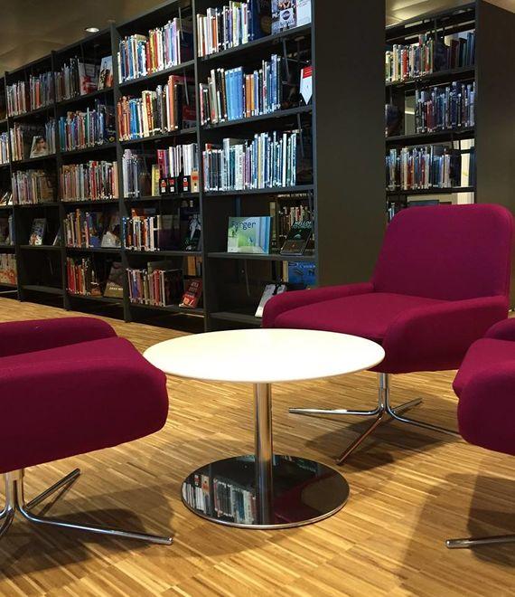 Kulturbadet bibliotek