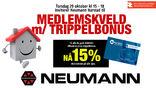 Trippelbonus medlemskveld Neumann Harstad