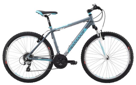 Sykkel Diamant blå