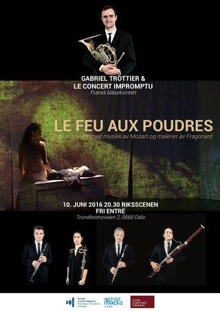 Gabriel Trottier & Le Concert Impromptu - Master Eksamenskonsert - Le Feu Aux Poudres (Cross Opera®)