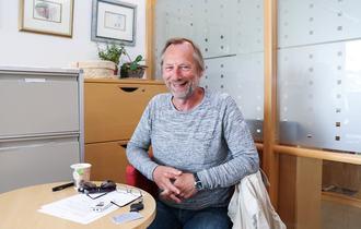 """Knut Johansen (Signo) forteller om prosjektet sitt """"Lytt til erfarne fjellfolk!"""""""
