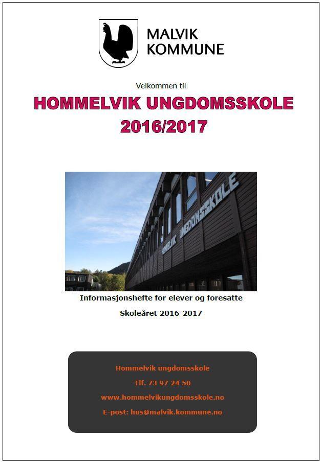 Forsidebilde informasjonshefte 2016 - 2017