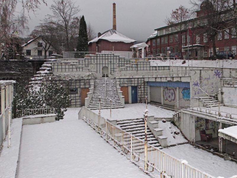 Vinterbilde Terrassen