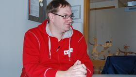 Ruben Lindgren i Malvik Røde Kors
