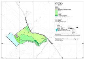Plankart Horremsleira friluftsområde