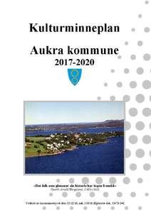 Framside kulturminneplan 2017-2020