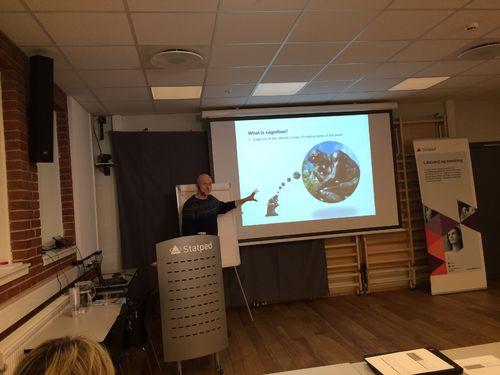 Flemming Ask-Larsen, foreleser i internasjonalt kurs om videoanalyse