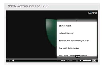 kommunestyremøte på web-TV