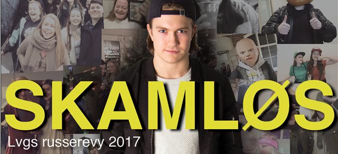 SKAMLØS ny banner