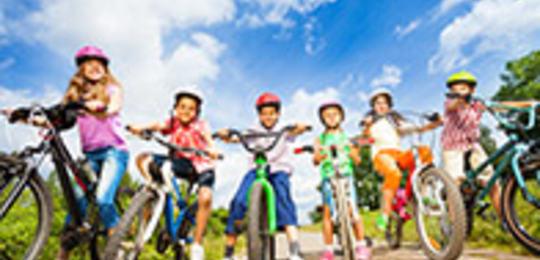 Sykle til skulen- trygg trafikk