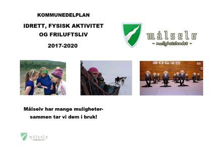 Kommunedelplan - idrett, fysisk aktivitet go friluftsliv