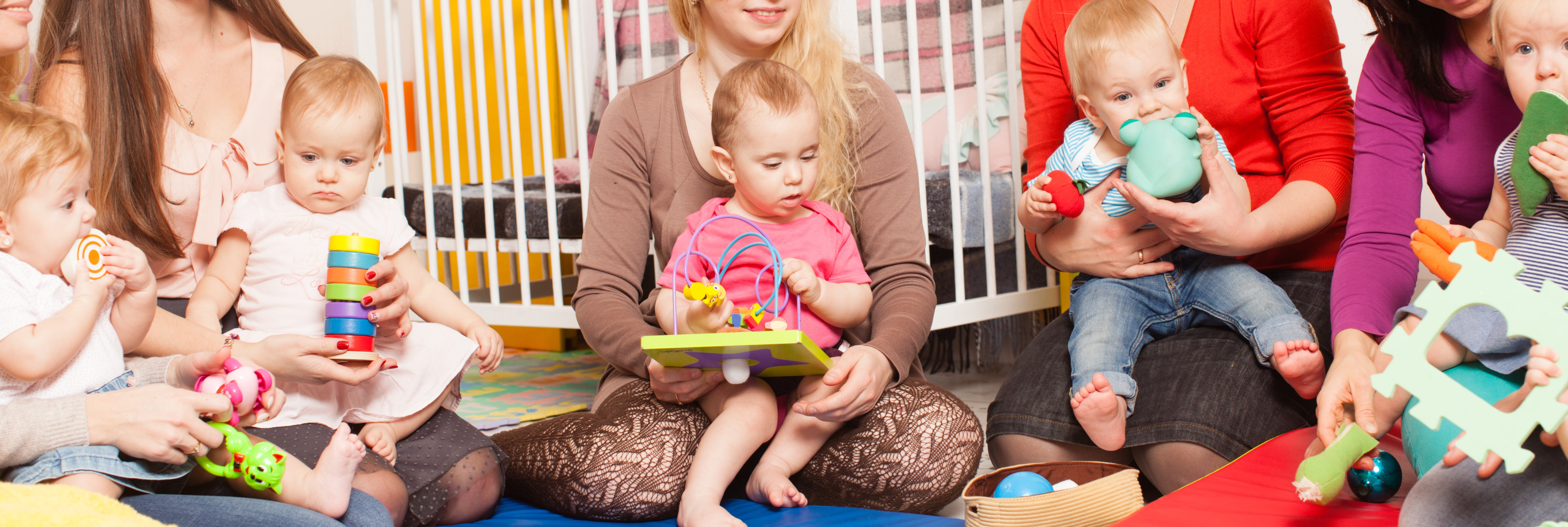 Bilde av barn i barnehagen