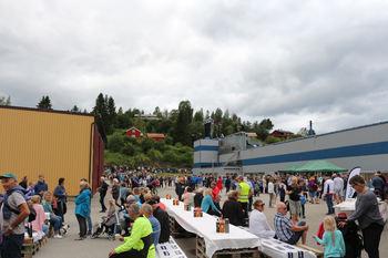Åpen dag ved Norsk Limtre