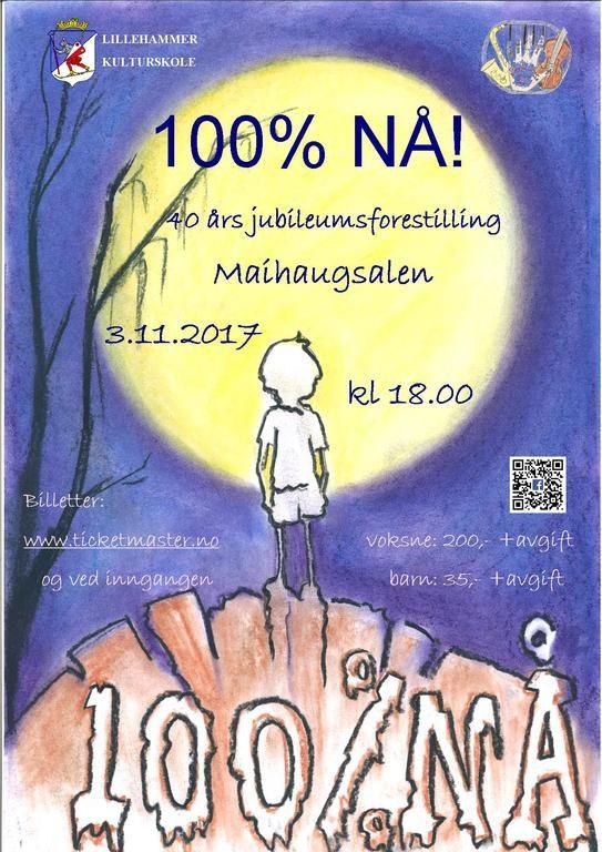 Plakat 100% NÅ!