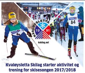 bilde av plakat om treningsoppstart 2017_beskjært