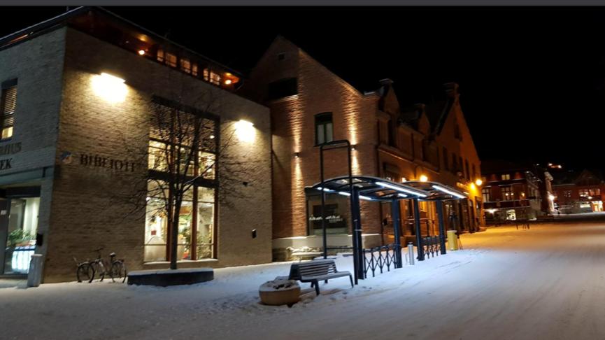 Vinterbilde Meierigården