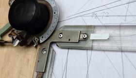 Illustrasjon av tegneverktøy