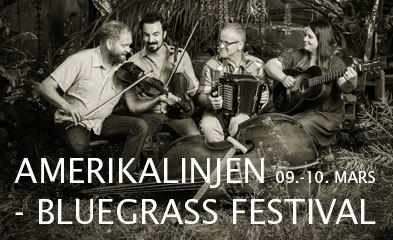 Amerikalinjen Bluegrass festival