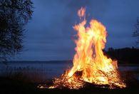 Åpen brenning bilde