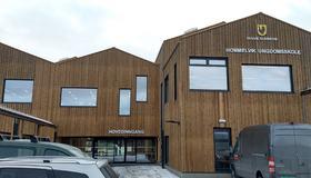 Bilde av Hommelvik ungdomsskole fra utsiden