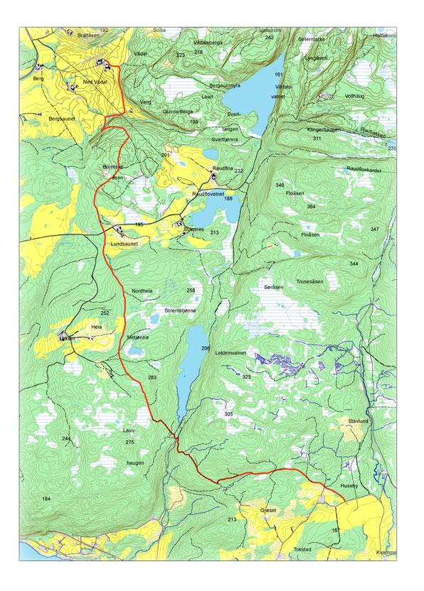 inderøy kommune kart Gamle Kongeveg   Inderøy kommune
