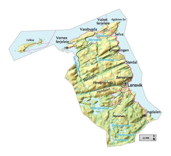 kart over agdenes Kart over Agdenes kommune   Agdenes kommune kart over agdenes