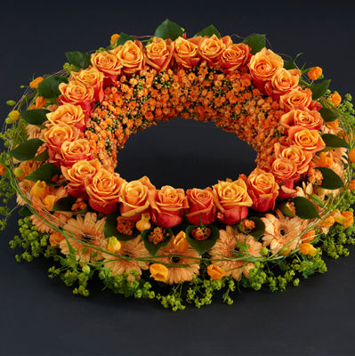 Interflora_sorgkrans_orange