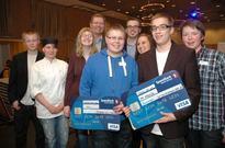 Glad vinnere UB Skaarungen 2011