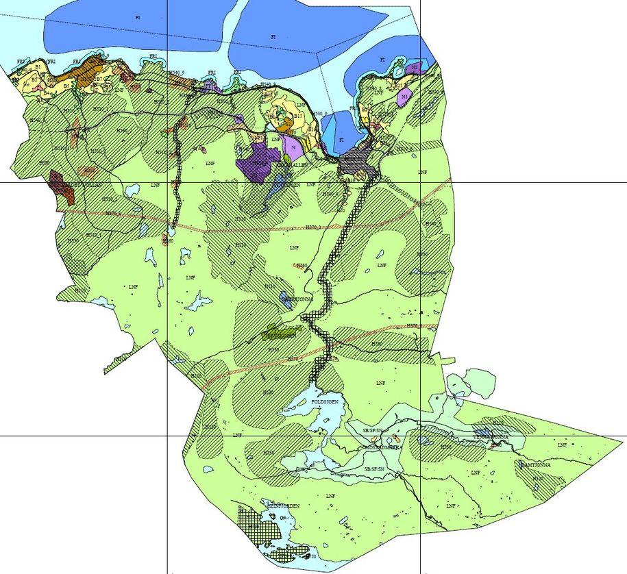 Bilde av arealplankartet
